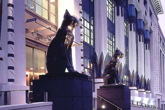 Black Cat & Greater London House