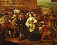 Hogarth's Southwark Fair
