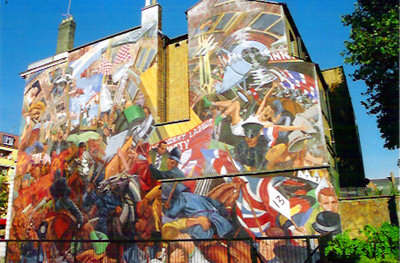The Cable Street Mural