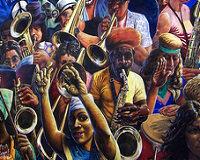 Hackney Peace Carnival Mural