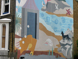 Bellefield Road Mural 2