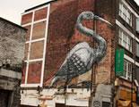 Peter Roa's Crane Mural