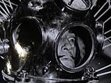 Salvador Dali in his Diving Suit