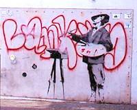 Banksy's Artiste