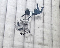 Banksy Off His Trolley