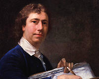 Artist Nathaniel Hone