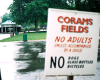 Coram's Fields: Children only!