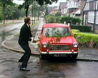 Basil Fawlty's Car Rage