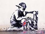 Banksy's Poundland