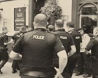 How to Arrest a Whole Pub