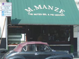M. Manze...pie and mash