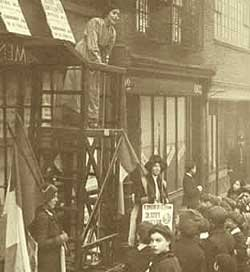 Sylvia's Suffragette Shop