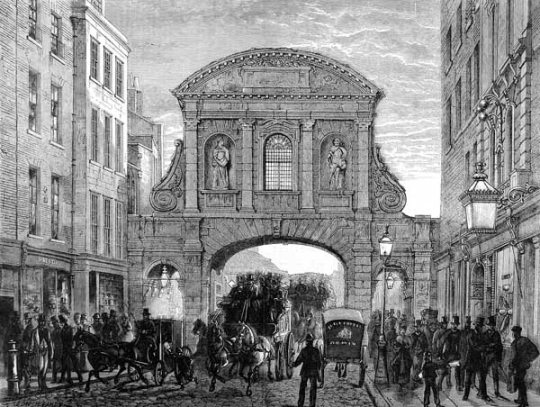 Temple Bar: A Traitor's Gate