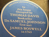 Where Boswell met Johnson