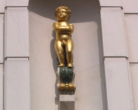 The Golden Boy Statue