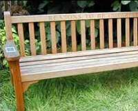 The Ian Dury Bench