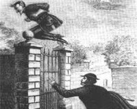 Spring Heeled Jack visited here