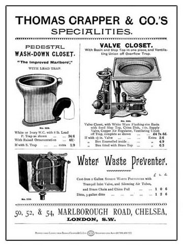 Thomas Crapper Flush House