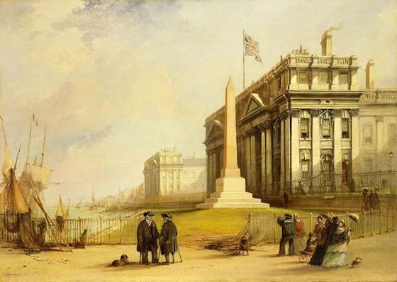 Joseph-Rene Bellot's Obelisk