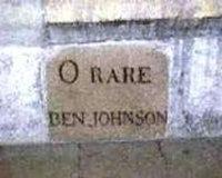 Ben Jonson is Still Standing