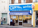 UK's first coin-op launderette