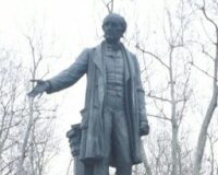 Gladstone's Redhanded Statue