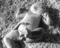 The Newborn Baby Sculpture