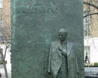 Swede Wallenberg's Statue