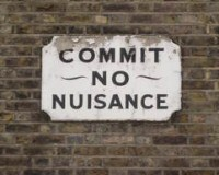 Sign: Commit No Nuisance