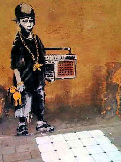 Banksy Brick Vent Radio