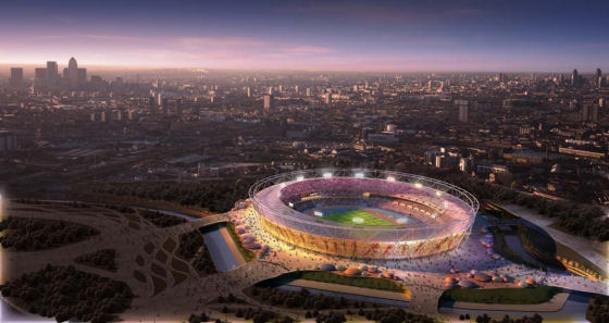 Olympics 2012: Main Stadium